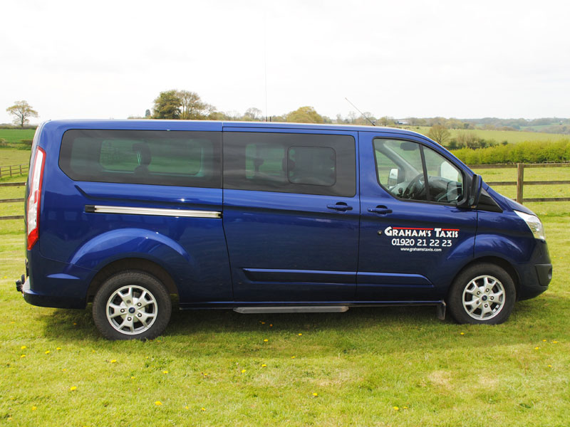 Our 8 seaters are very popular with our clients, who often comment on how comfortable they are.