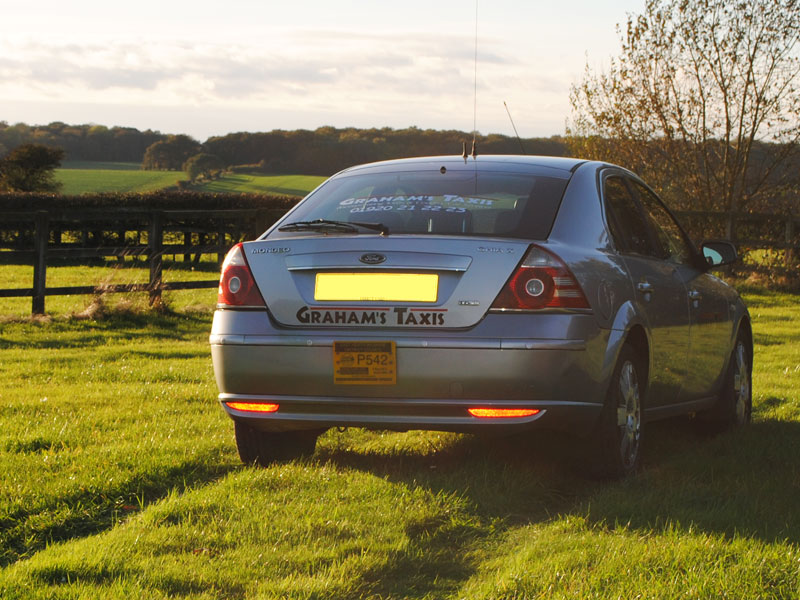Our current fleet consists of top of the range Ford Mondeo Ghia X's.