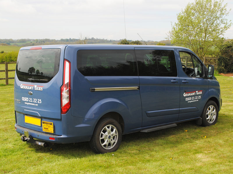 8 seaters are ideal for airport transfer work.