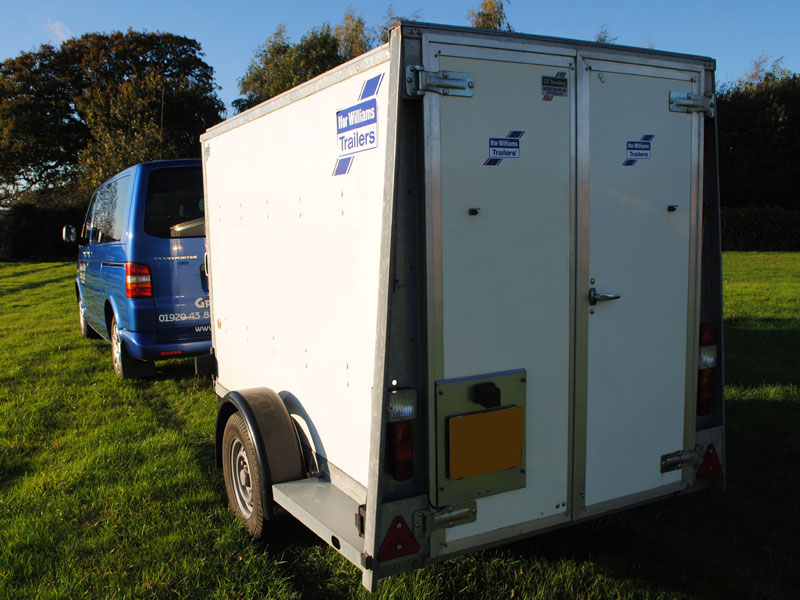 Trailers for those unusual or large quantities of luggage including golf clubs.